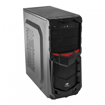Gabinete C3TECH Gamer MT-G50 BK 3 Baias S/ Fonte