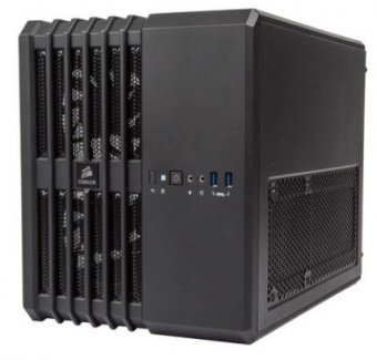 Gabinete Corsair Carbide Air 240 Com Janela Lateral Preto - Cc-9011070-Ww