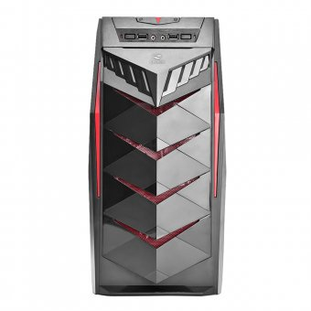 Gabinete Gamer C3 Tech MT-G70 BK S/Fonte
