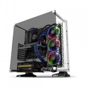 Gabinete Gamer Thermaltake Core P3 Snow Edition, sem Fonte CA-1G4-00M6WN-05