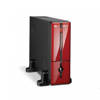 Gabinete K-MEX MATX/ITX GM9G8A Fonte 200W Preto/Vermelho 1 Baia
