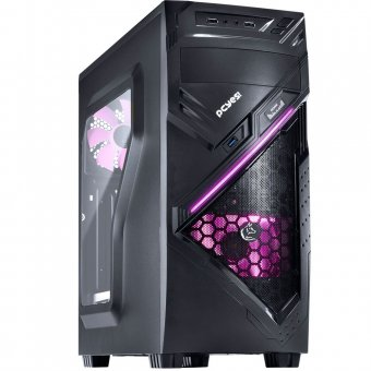 GABINETE PCYES MIDTOWER CHACAL 24564 ROSA Sem FONTE
