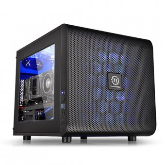 GABINETE THERMALTAKE CORE V21 BLACK WINDOW, CA-1D5-00S1WN-00