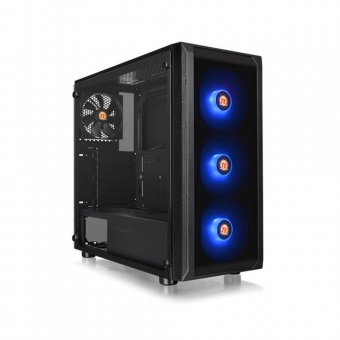 Gabinete ThermalTake J23 Tg Rgb Preto MB SYNC CA-1L6-00M1WN-01