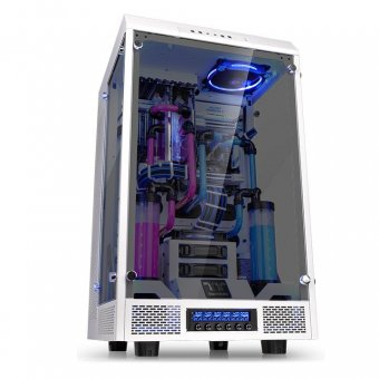 Gabinete Thermaltake The Tower 900 Snow Edition Tg, Ca-1h1-00f6wn-00