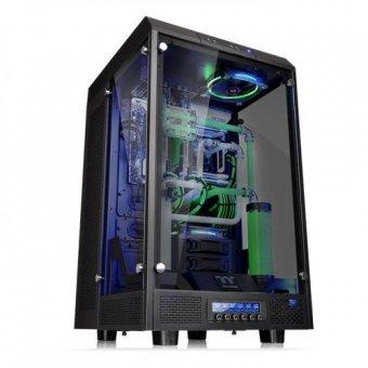 Gabinete ThermalTake The Tower 900/Black/Win/Tempered Glass CA-1H1-00F1WN-00