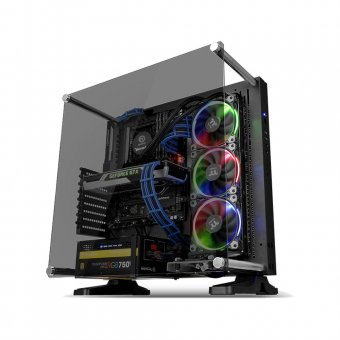 Gabinete Thermaltake Tt Core P3 Tg Blk Wall Mount Sgcc Temp Glass 1 Ca1g400m1wn06