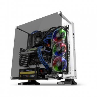 Gabinete Thermaltake Tt Core P3 Tg Snow Wall Mount Sgcc Temp Glass 1 Ca1g400m6wn05