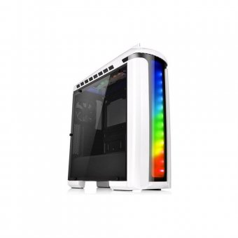 Gabinete ThermalTake Versa C22 RGB Snow Full Window CA-1G9-00M6WN-03