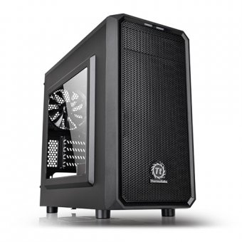 Gabinete Thermaltake Versa H15 Black Window, Ca-1d4-00s1wn-00