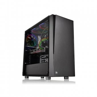 Gabinete ThermalTake Versa J21 TG Black/Win/ CA-1K1-00M1WN-00*