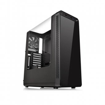 Gabinete ThermalTake View 27 Preto RIING 12 RED CA-1G7-00M1WN-04