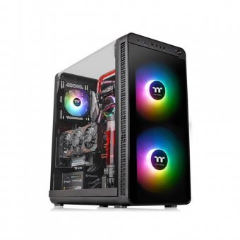 Gabinete ThermalTake View 37 ARRGB Black Win CA-1J7-00M1WN-04
