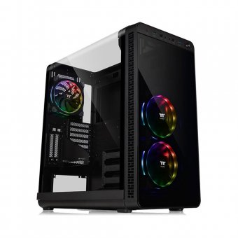 Gabinete ThermalTake View 37 RGB Plus Black Win CA-1J7-00M1WN-01