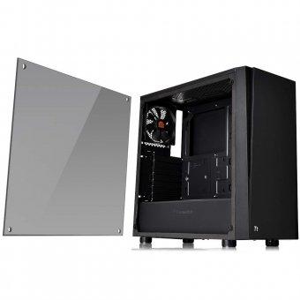 Gabinete Tt Versa J21 Tg Black/Win/Tempered Glass 1 CA-1K1-00M1WN-00