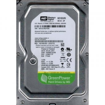 Hd 1tb Western Digital Green Sataiii  Wd10eurx
