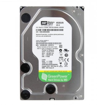 Hd 2 TB Sata 3 IntelliPower 64MB Western Digital WD20EURX