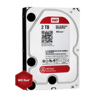 HD 2TB Western Digital RED NAS WD20EFRX-68EUZN0