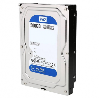 HD Interno WD Blue 500GB SATA III 6GB/s 7200 RPM WD5000AZLX