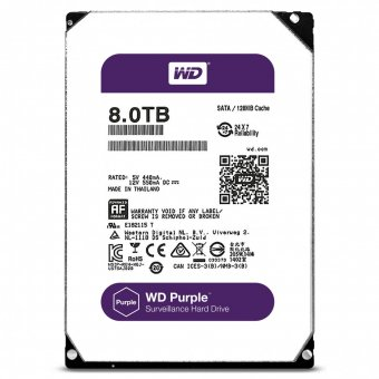 HD Interno WD Purple 8TB Sata III 6GB/s 5400Rpm WD81PURZ