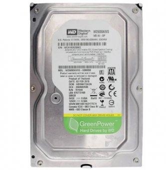 HD para Desktop 500Gb Sata II Western Digital WD5000AVVS