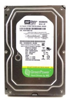 Hd Sata2 320gb Western Digital Wd3200avvs