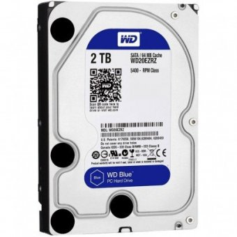 HD WD DE 2TB WD20EZRZ 64MB BLUE 6 GBPS 5400 RPM