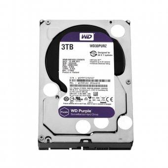Hd Wd Sata 3,5´ Purple Surveillance 3tb Intellipower 64mb Cache Sata 6.0gb/s - Wd30purz