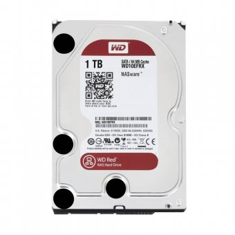 HD WD Sata 3,5´ RED NAS 1TB 5400RPM 64MB Cache SATA 6.0Gb/s - WD10EFRX