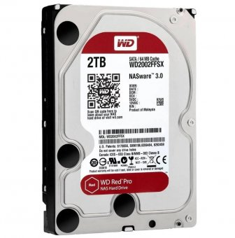 HD WD Sata 3,5´ Red Nas 2tb 5400rpm 64mb Cache Sata 6.0gb/S - Wd20efrx