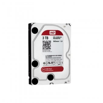 HD WD Sata 3,5´ RED NAS 3TB 5400RPM 64MB Cache SATA 6.0Gb/s - WD30EFRX