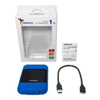 HDD Externo 1TB ADATA Blue 2,5