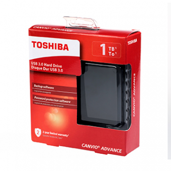 HDD Externo 1TB TOSHIBA Canvio Advance Pto 2,5