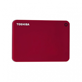 HDD Externo 1TB TOSHIBA Canvio Advance Verm 2,5