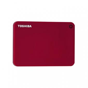 HDD Externo 1TB Toshiba Canvio Advance Vermelho 2,5