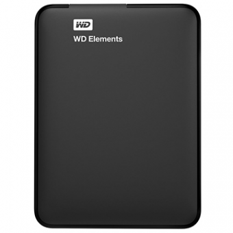 HDD Externo 1TB Western Digital Elements Preto Portatil USB 3.0 WDBUZG0010BBK