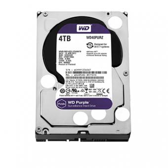 HDD WD Purple 4 TB P/Seg./Vigilancia /DVR - WD40PURZ