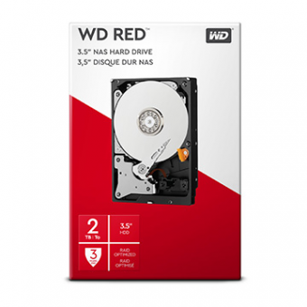 HDD WD Red 2 TB NAS P/Servidor 24X7 - WD20EFRX