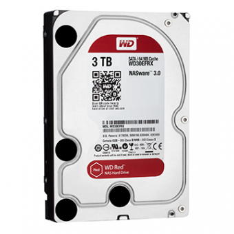 HDD WD Red 3 TB NAS P/ Servidor 24X7 WD30EFRX