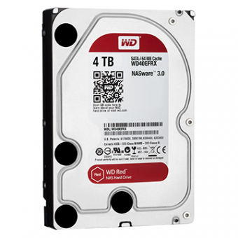 HDD WD Red 4 TB NAS P/ Servidor 24X7 - WD40EFRX