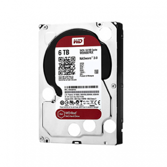 HDD WD Red 6 TB NAS P/ Servidor 24X7 WD60EFRX