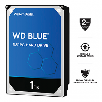 HDD Western Digital 1TB Sata 6.0GB/S WD10EZEX 64MB 7200 RPM