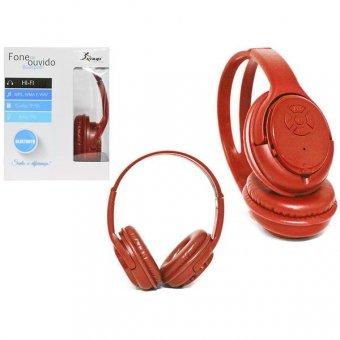 Headphone Bluetooth 3.0 - Vermelho - KP-361