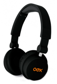 Headphone Style Preto Hp-103 Oex