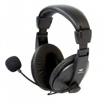 Headset C3 Tech Voicer Confort Preto - Mi-2260arc
