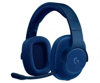 Headset Gamer Logitech G433 7.1 Surround Azul, 981-000684