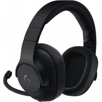 Headset Gamer Logitech G433 7.1 Surround Preto, 981-000667