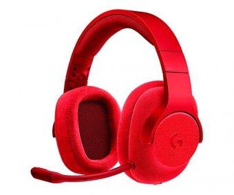 Headset Gamer Logitech G433 7.1 Surround Vermelho, 981-000651
