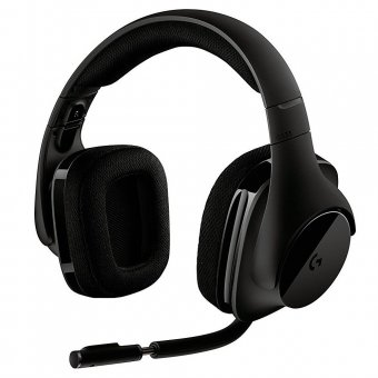 Headset Gamer Logitech G533 Sem Fio 7.1 Surround - 981-000633