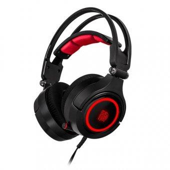 Headset Gamer Thermaltake Cronos Riing Rgb 7.1 Preto, Ht-cra-diecbk-20